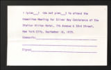 Conferences. Silver Bay Human Relations in Industry Conference. Conference Materials, 1964-1968, 1972, 1975. (Box 6, Folder 39)