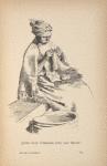 Jeune fille d'Hermon avec son tricot