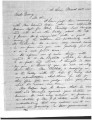 Letter from James M. Monroe to Brigham Young briefly discussing Utah's Indian Agent, March 22, 1851