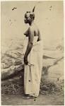 Negerin in Accra Negro woman in Accra