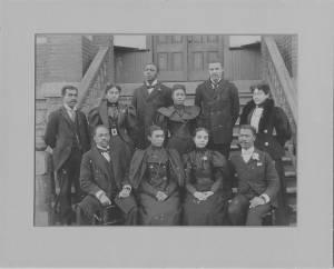 Photograph of the Morris Brown College Faculty, Atlanta, Georgia, circa 1900
