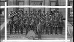 Howard University R.O.T.C. Band February 5, 1931 [cellulose acetate photonegative, banquet camera format]