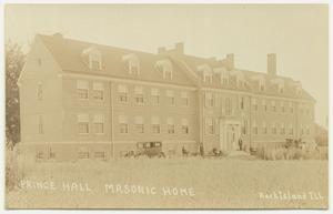 Prince Hall Masonic Home: Rock Island, Ill., postcard, about 1927