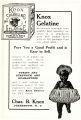 Knox Sparkling Gelatine (1909)