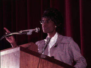 Chisholm, Shirley (Congresswoman)