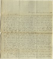 Letter from Charlotte to Samuel Cowles, 1840 March 11.