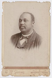 Portrait of Unknown African American Man