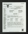 Administrative Records. Budget and Finance Committee, 1987, 1993-1995. (Box 2, Folder 28)