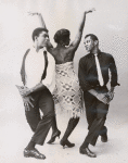Alvin Ailey and Nathaniel Horne compete for the affections of Minnie Marshall in this dance from Alvin Ailey's Blues Suite