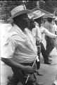 """Men participating in the """"March Against Fear"""" through Mississippi, begun by James Meredith."""