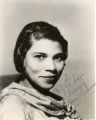Singer Marian Anderson