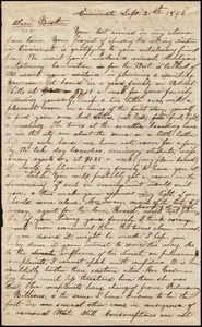 Letter from Epaphras Goodman, Cincinnati, to Amos Augustus Phelps, Sept. 21th 1846