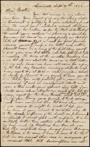 Letter from Epaphras Goodman, Cincinnati, to Amos Augustus Phelps, Sept. 21th 1846