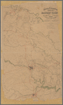 Military topographical map of eastern Virginia