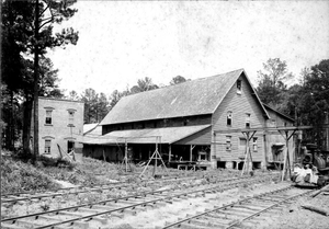 Smithonia, Ga., RR & buildings