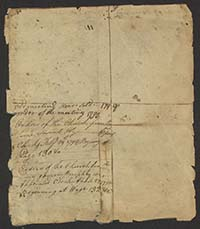 Minute book, 1770-1859 (Sandy Creek Baptist Church, Louisburg, N.C.)