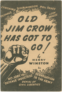 Old Jim Crow Has Got to Go!