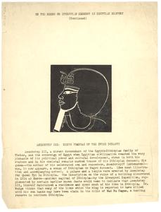 Amenhotep III: Ninth Pharaoh of the XVIII dynasty