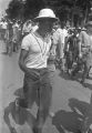 "Man participating in the ""March Against Fear"" through Mississippi, begun by James Meredith."
