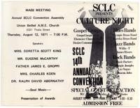 SCLC Presents Culture Night
