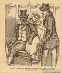 Negro expulsion from railway car, Philadelphia