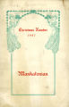 The Mankatonian, Volume 20, Issue 3, December 1907