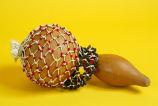 Shekere gourd rattle