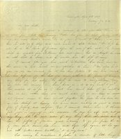 Letter from Charlotte to Samuel Cowles, 1839 April 9.