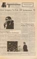 Arkansas Traveler, February 2, 1970; Dick Gregory to Kick off Symposium 70; Arkansas traveler (Fayetteville, Ark.); Traveler