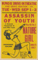 Knox Drive-In Theaters feature film, Assassin of Youth and Nature Girl