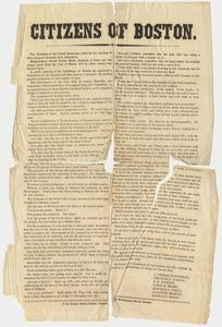 Citizens of Boston, 1863 October