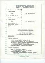 Dan Warren, Hank Drane, Verle Pope, Hamilton Upchurch, and George Allen : Testimony