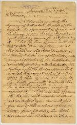 [Letter] 1788 June 2, Savannah, [Georgia to George] Handley, Governor [of Georgia] / Brig[adier] Gen[era]l Ja[me]s Jackson