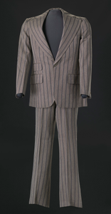 Brown pin-striped suit worn by Sammy Davis Jr