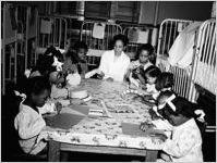 Children at Grady Hospital