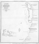 A Chart of the islands of Anegada, together with the vessels wrecked thereon