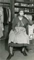 """Ethel Waters on the stage set for """"Mamba's Daughters"""""""