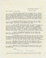 Letter from Natalie Broughton in Evanston, Illinois, to Virginia Durr.