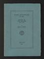 Financial Records. Rosenwald Fund reports, 1936, 1944. (Box 7, Folder 10).