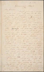 Letter from Adin Ballou, Mendon, Mass[achusetts], to William Lloyd Garrison, 1838 Jan[uary] 10