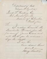 David S. Gooding from William H. Seward