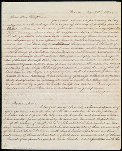 Letter from Anna M. Hopper, Philad[elphi]a, [Penn.], to Maria Weston Chapman, 2 mo[nth], 20th [day], 1840