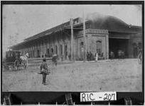 Photograph of Old Union Station, Augusta, Richmond County, Georgia, between 1912 and 1915?