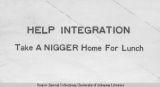 Racist Mockery of Integration