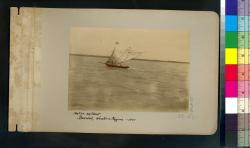 Native sailboat : Bacolod, Western Negros -- 1901