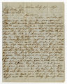 Letter by James H. Bryan, New Orleans, to Ziba Oakes