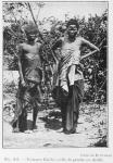 Femmes Batéké (celle de gauche en deuil)