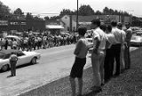 White bystanders in Senatobia, Mississippi, observing the March Against Fear begun by James Meredith.