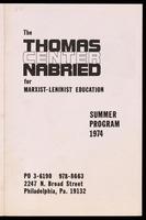 Leaflets for programs