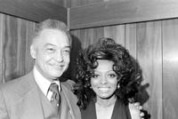 Ross, Diana; Singer. With; Mayor Coleman A. Young.